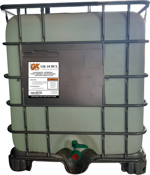 Germicide decontamination liquid